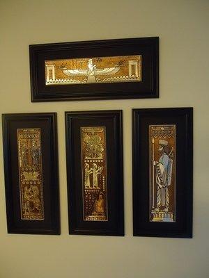 Persepolis carvings set