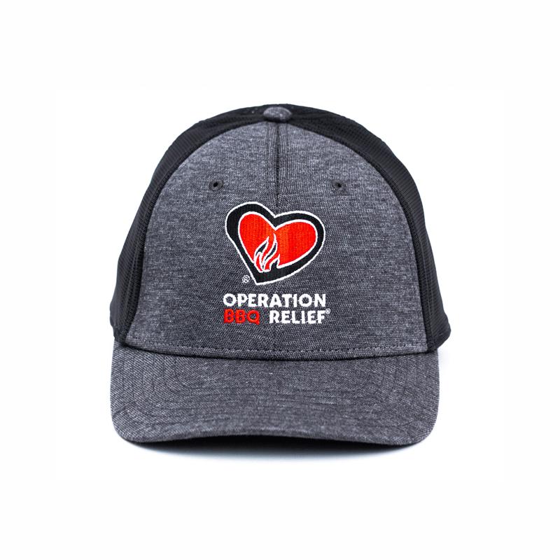 Operation BBQ Relief Meshback Cap OBR-Cap