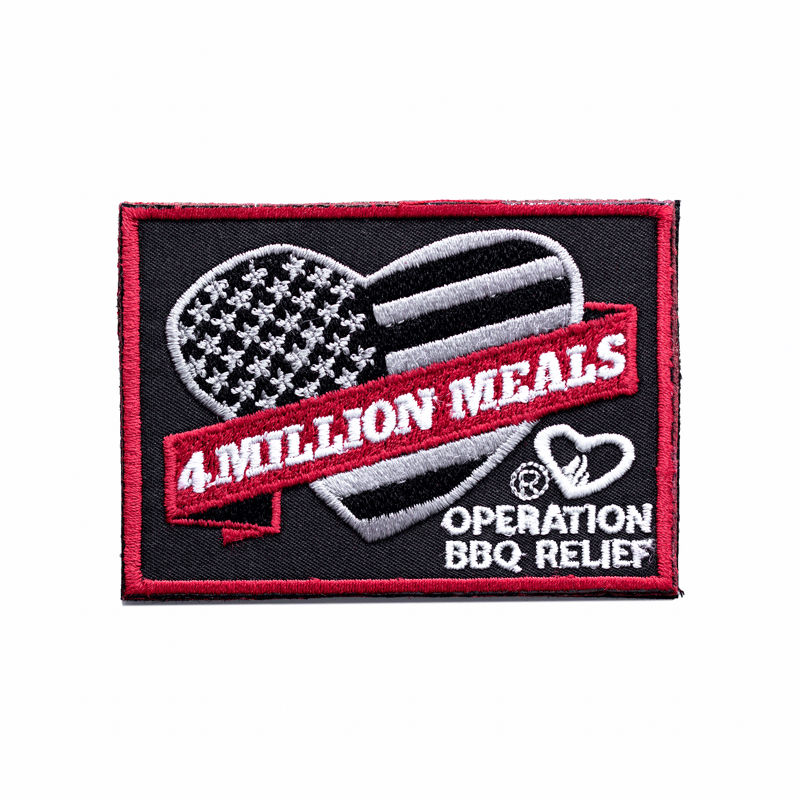 4 Million Meals - Operation BBQ Relief Patch 4MPatch