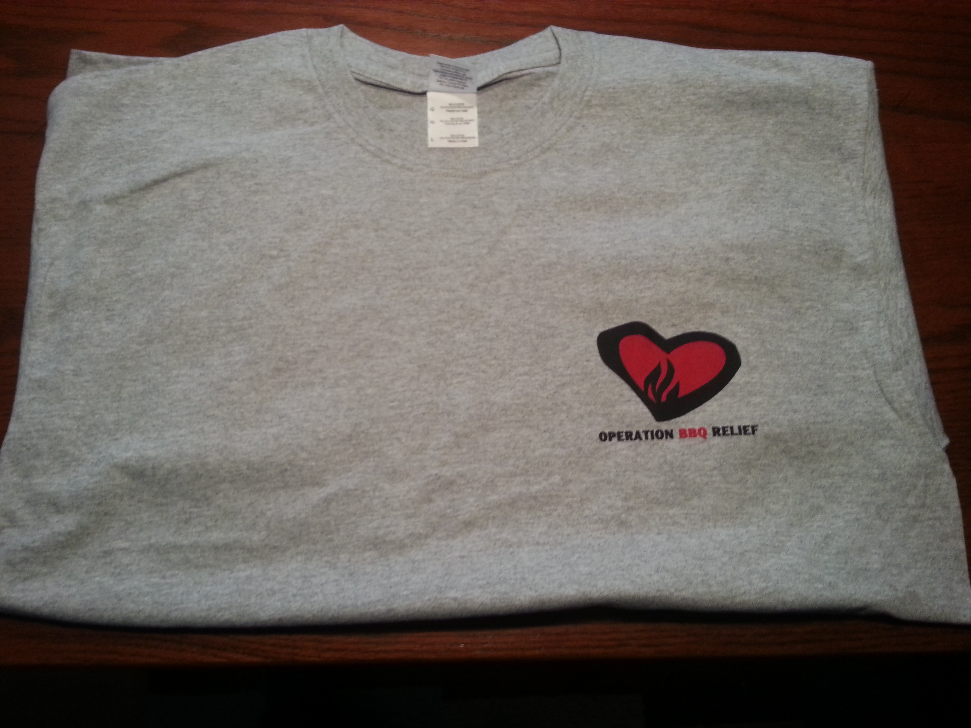 OBR Grey T-Shirt - 3XL - FREE Shipping