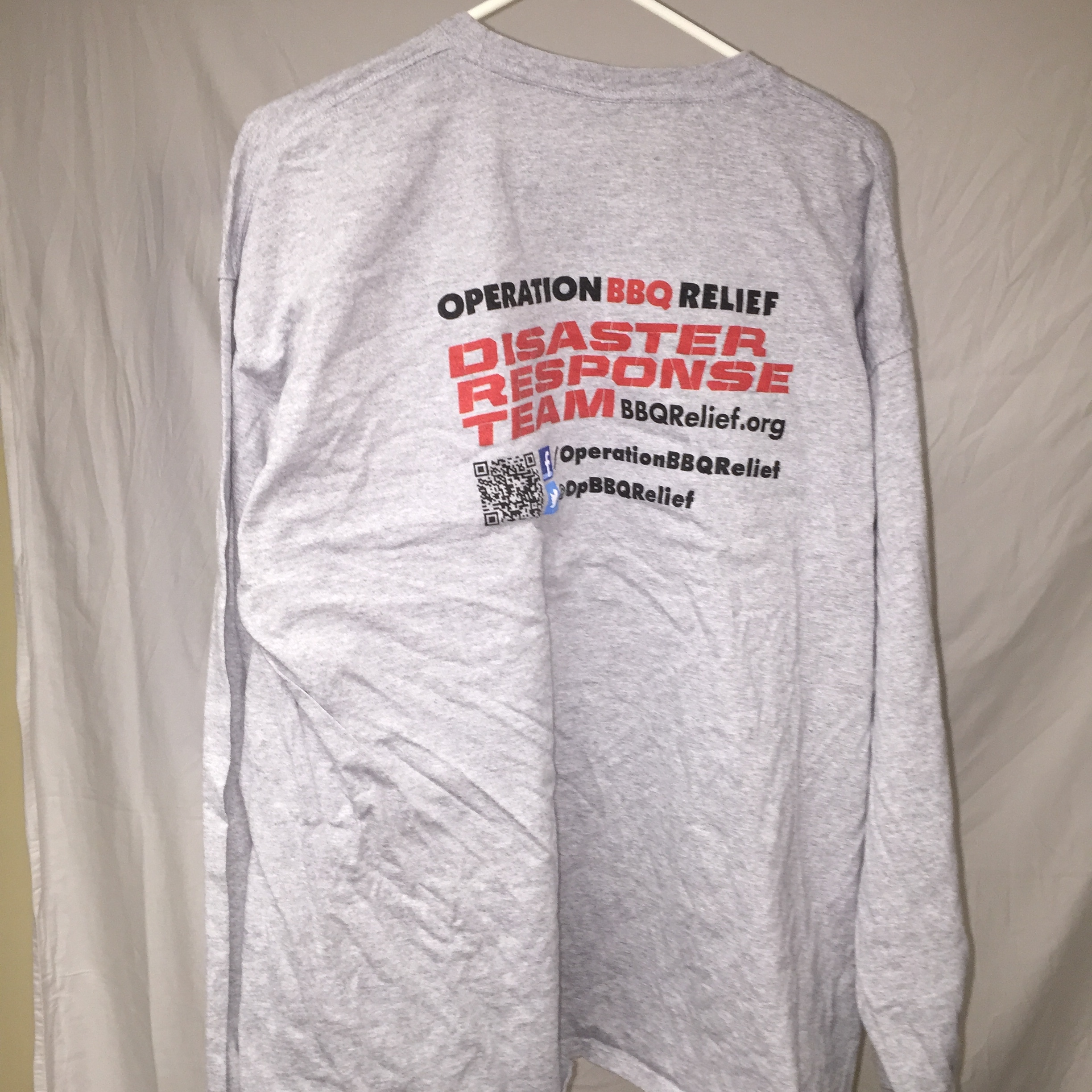 2014 - Disaster Response Team - T-Shirts (Black or Grey) Long Sleeve