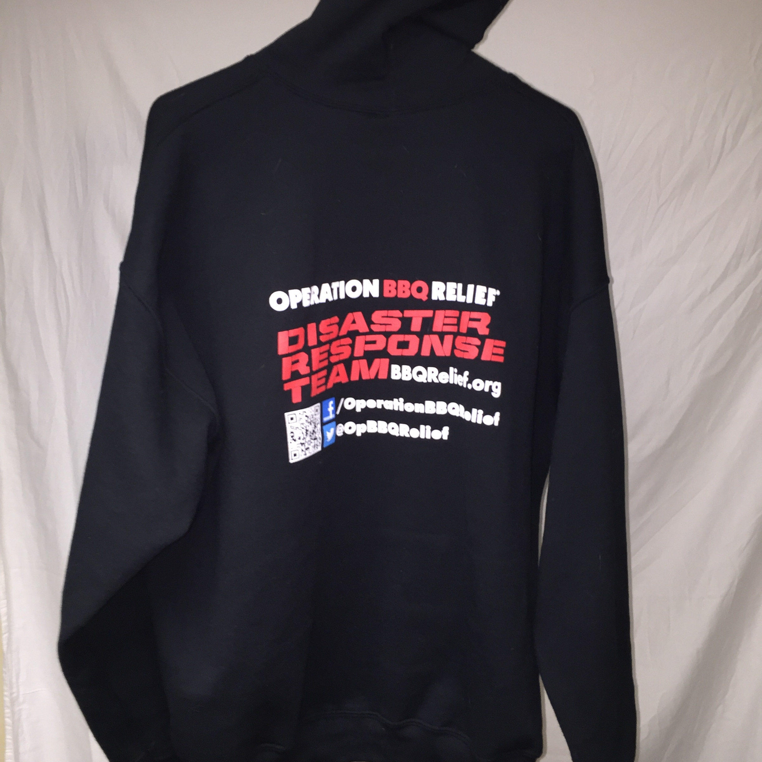Operation BBQ Relief - Disaster Relief Hoodie 50029