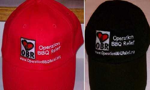 Operation BBQ Relief - Baseball Cap 005