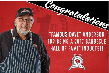 Famous Dave's Hall of Fame Celebration 8900