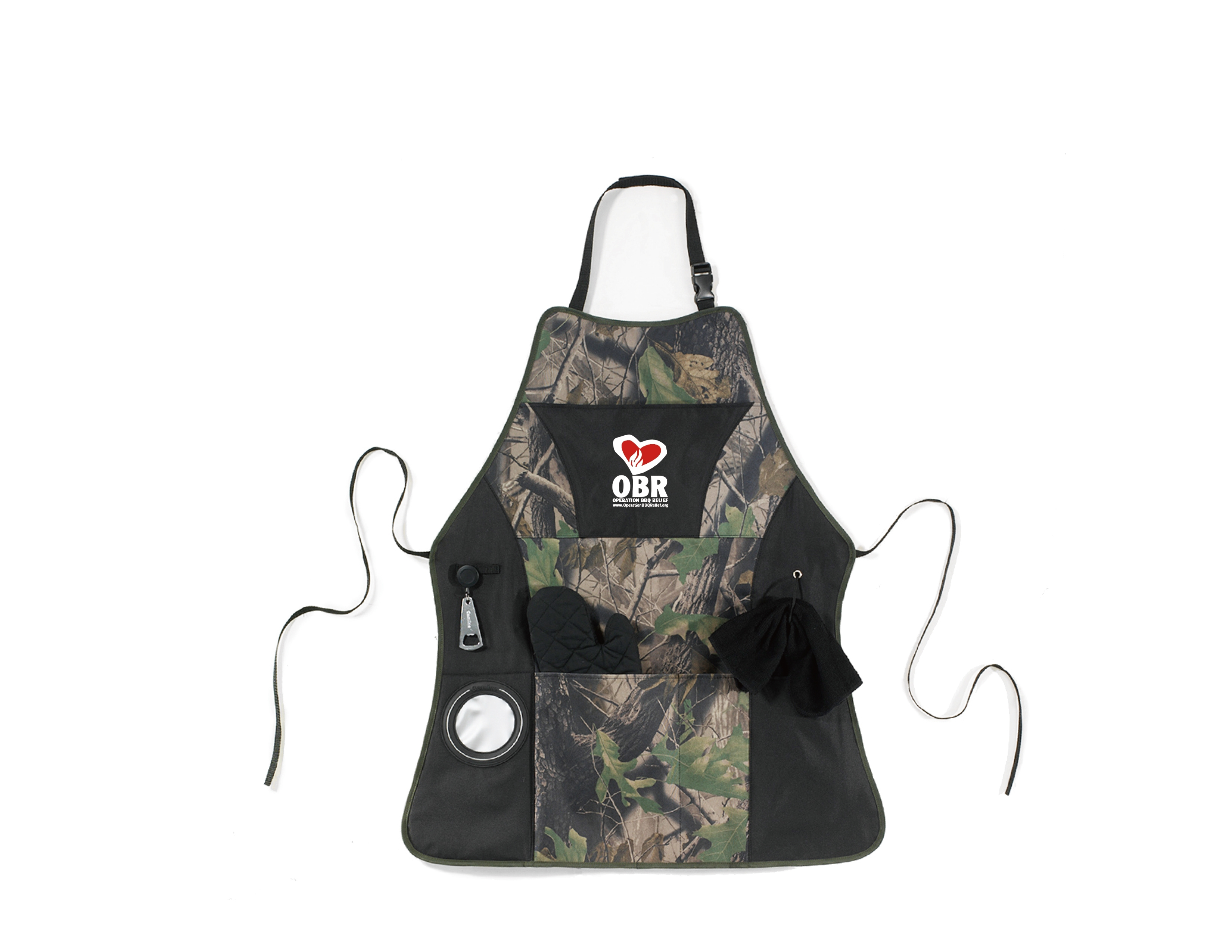 OBR Grill Master Apron Kit - Camo
