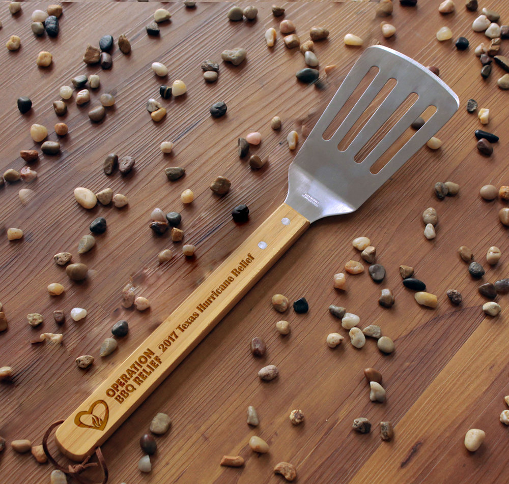 OBR BBQ Spatula - All proceeds donated to Operation BBQ Relief TXFundSpatula