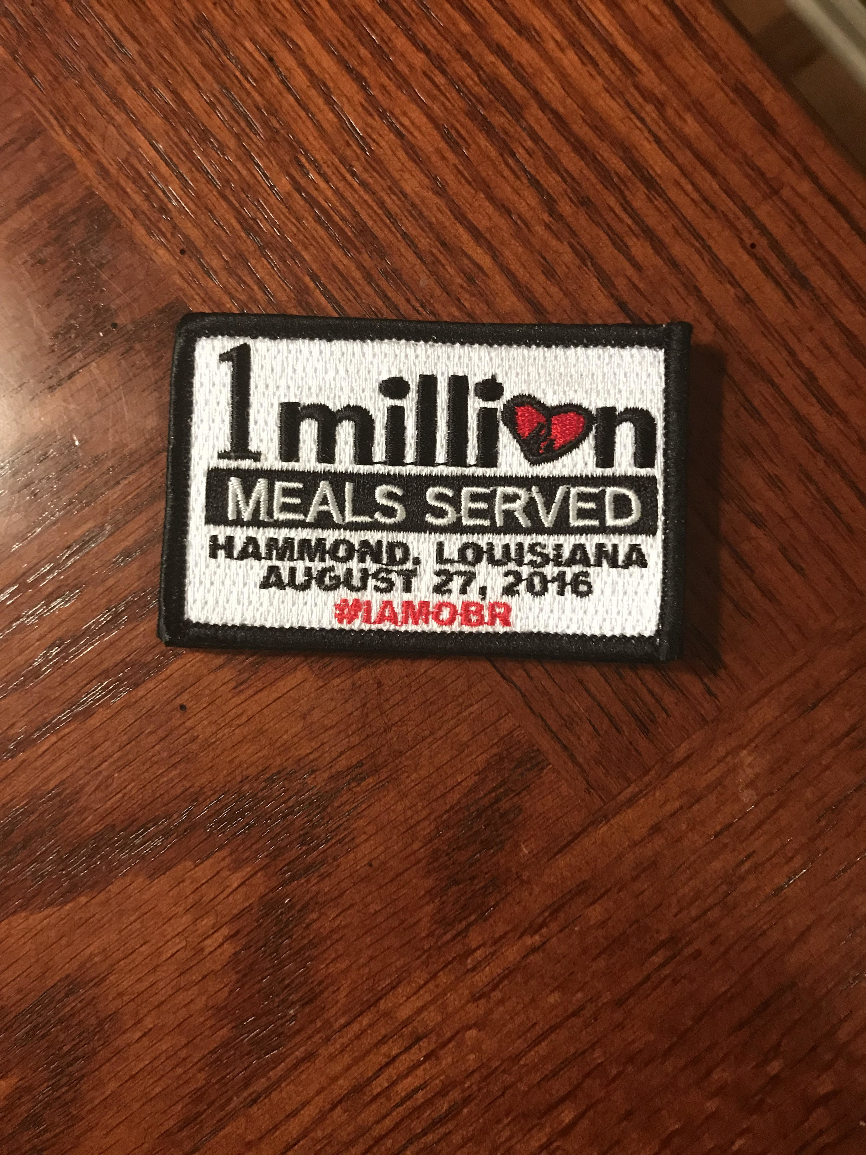 1 Million Meal Patch 51235