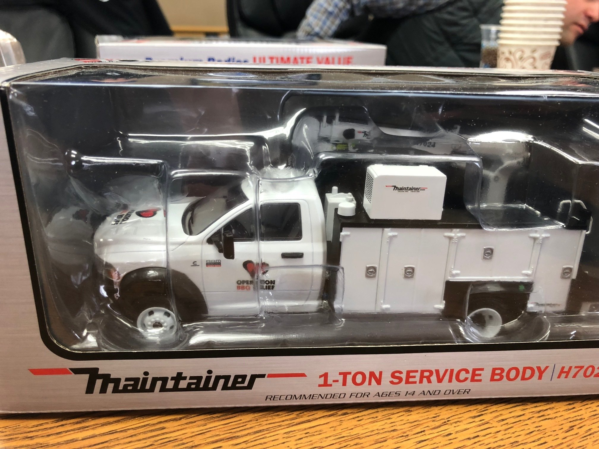 OBR Maintainer Replica Diecast 60012