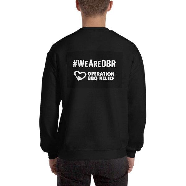 #We Are OBR Sweatshirt (Black)