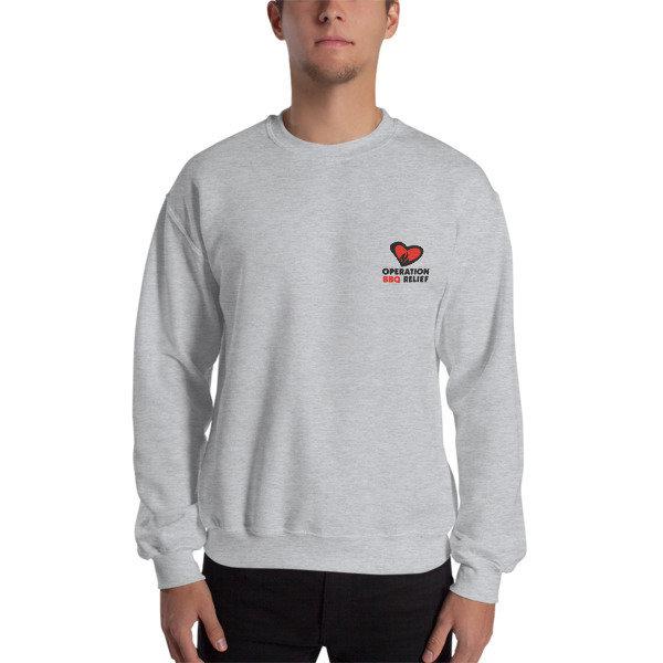 #iamOBR Sweatshirt (Grey) 60026