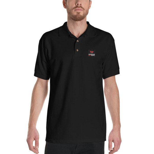 Embroidered OBR Polo Shirt (Black)