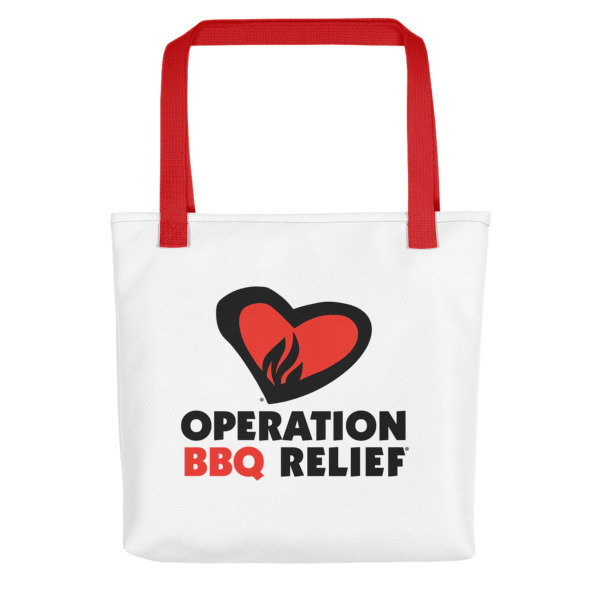 'Operation BBQ Relief Carry All Reusable Tote bag 60035