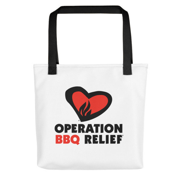 'Operation BBQ Relief Carry All Reusable Tote bag