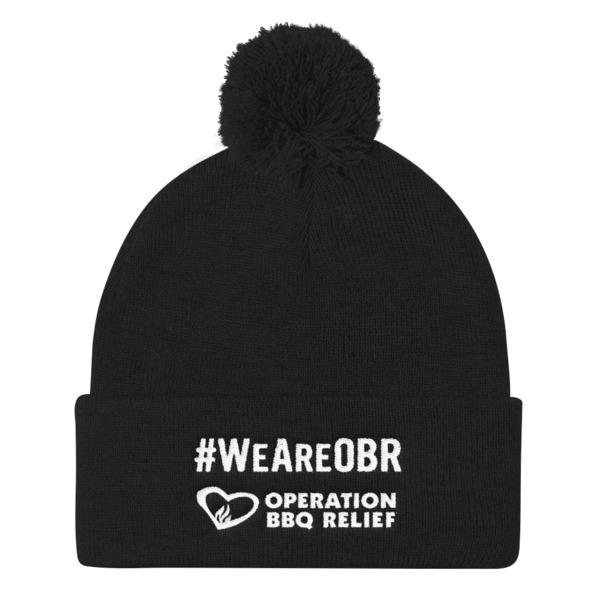 #WeAreOBR Pom Pom Winter Knit Hat 60038
