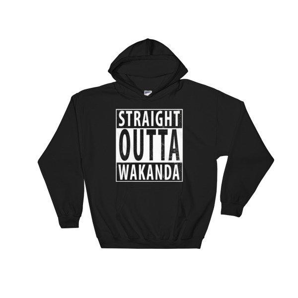 ISSA • Black Panther Hooded Sweatshirt