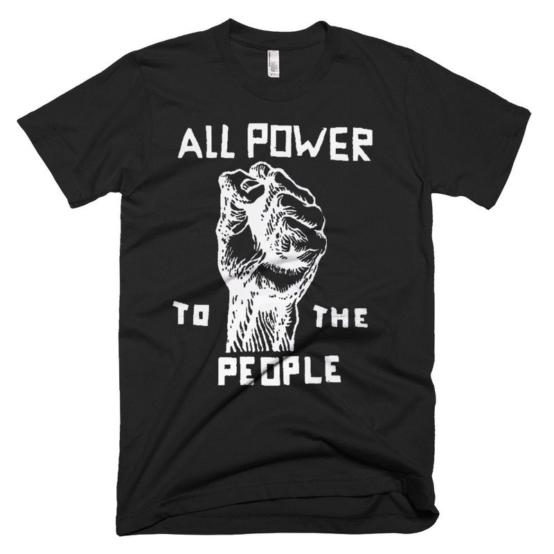 ISSA • Retro Black Panther Party T-Shirt