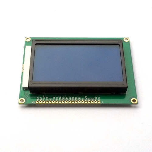 LCD Module LM 12864 128x64 Dots Graphic - 3 3V, blue backlight Write review    Ask question