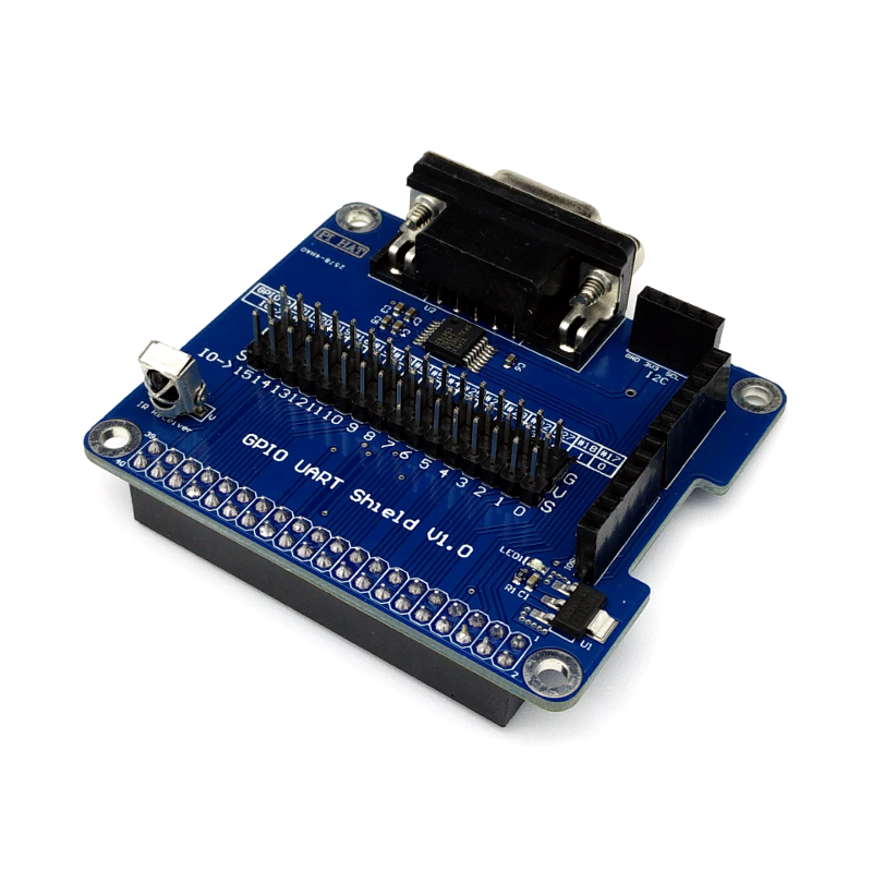 RS232 Serial / UART Add-On Board for Raspberry Pi Write review | Ask  question