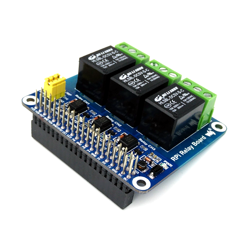Relay Add-On Board for Raspberry Pi Write review | Ask question