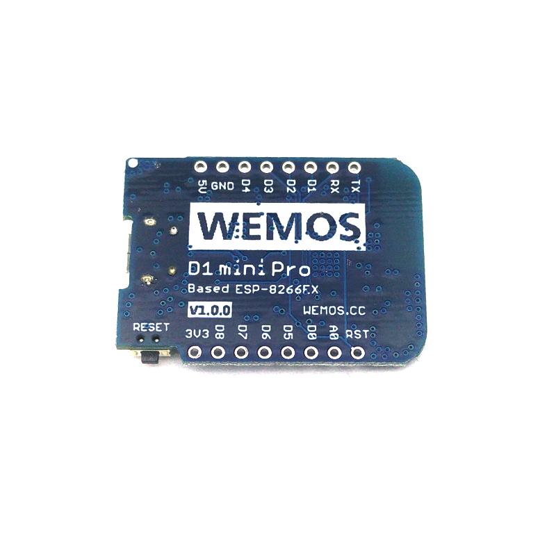 WeMos D1 Mini Pro WiFi Development Board Write review   Ask question