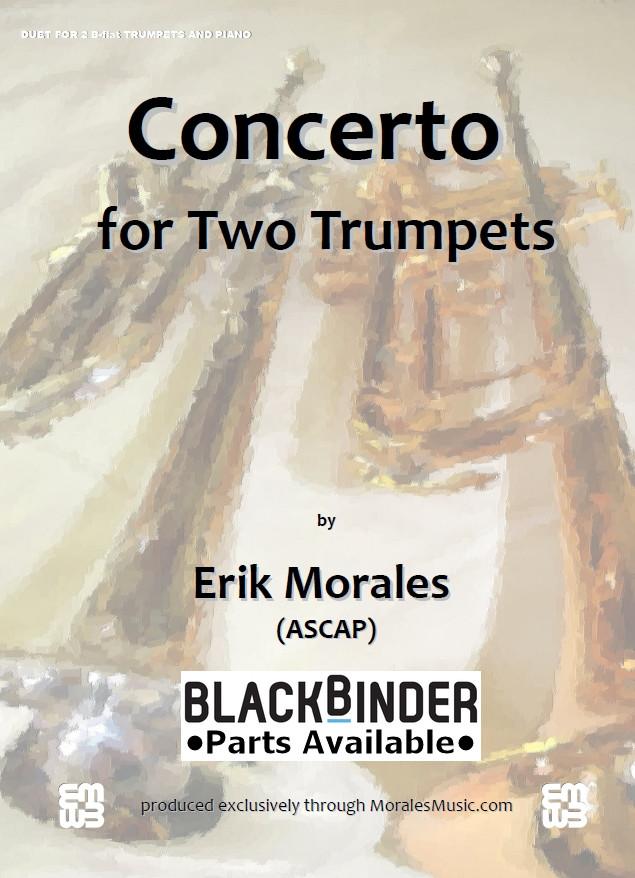 Concerto for Two Trumpets - Piano Accompaniment