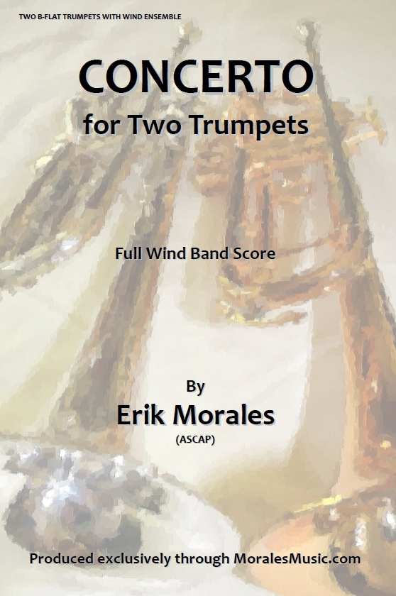 Concerto for Two Trumpets - Full Band Version 00043