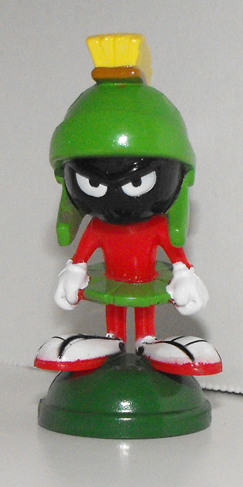 Marvin the Martian 2 inch Plastic Figurine
