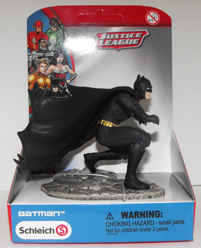 Batman Kneeling - Justice League Figurine - New in Box - Schleich