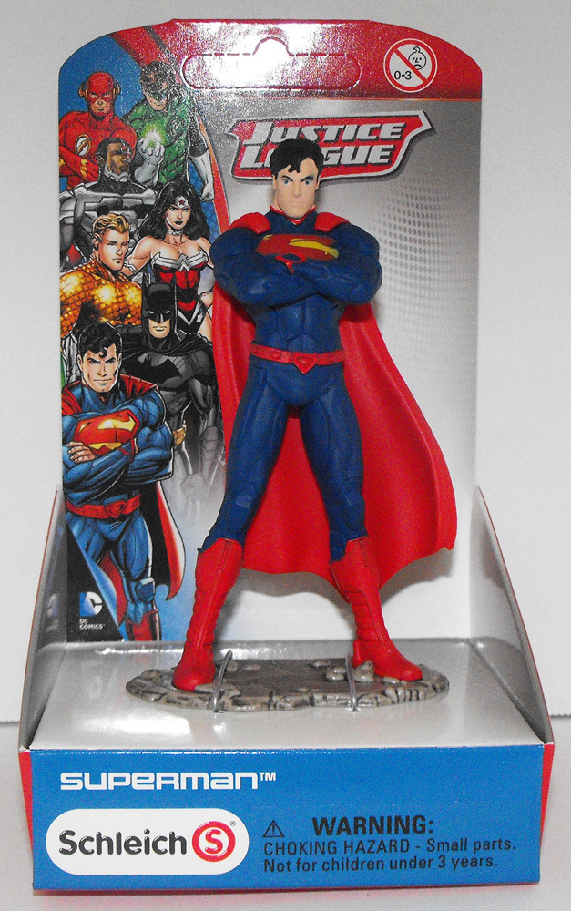 Superman Standing - Justice League Figure - New in Box - Schleich
