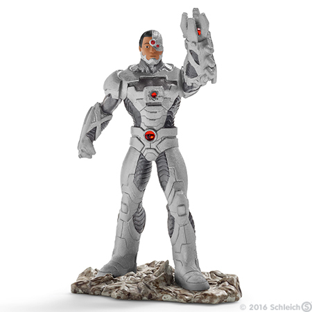 Cyborg - Justice League Figure in Package - New in Box - Schleich