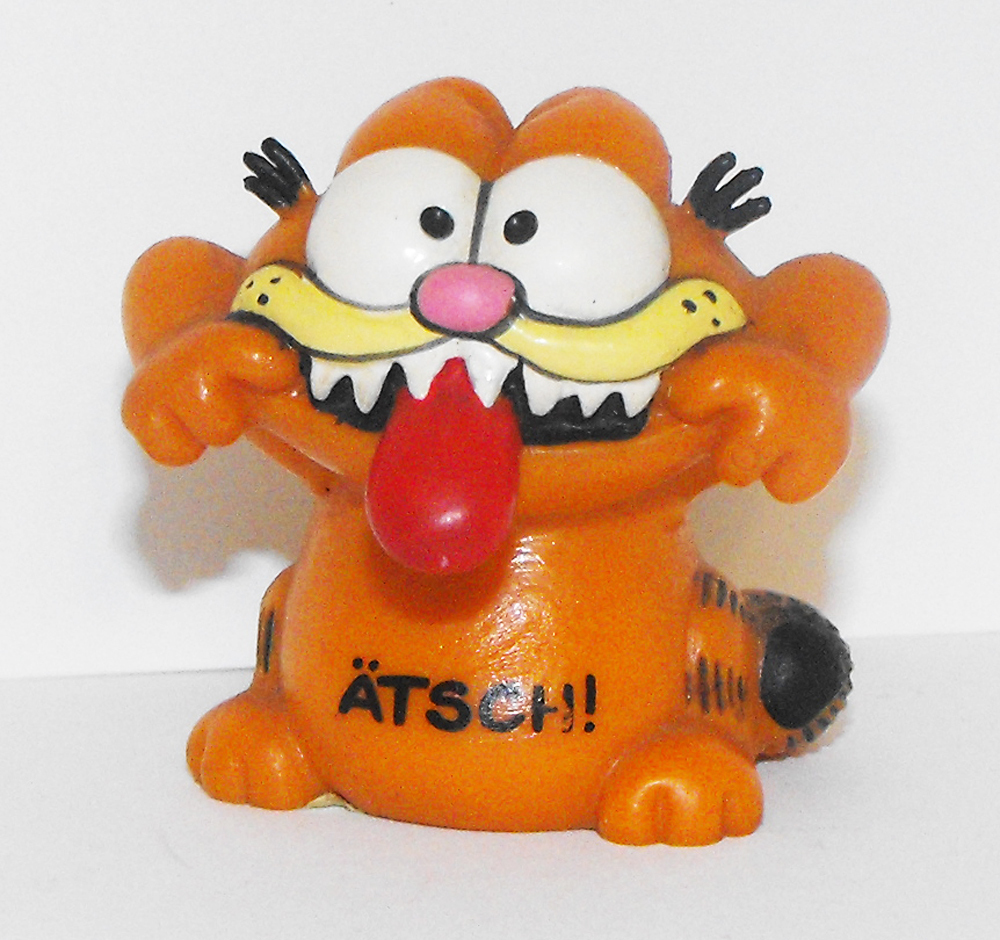 Garfield Tongue Sticking Out Figurine ATSCH!