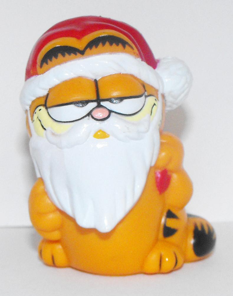 Christmas Garfield as Santa Figurine