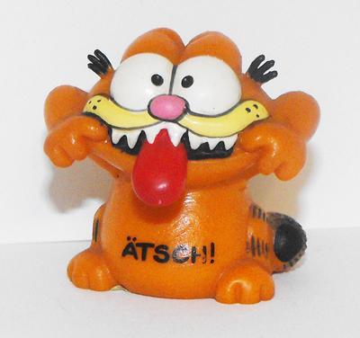 Garfield Tongue Sticking Out Figurine ATSCH!