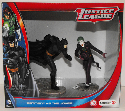 Batman vs Joker - Justice League Figurines - New in Box - Schleich