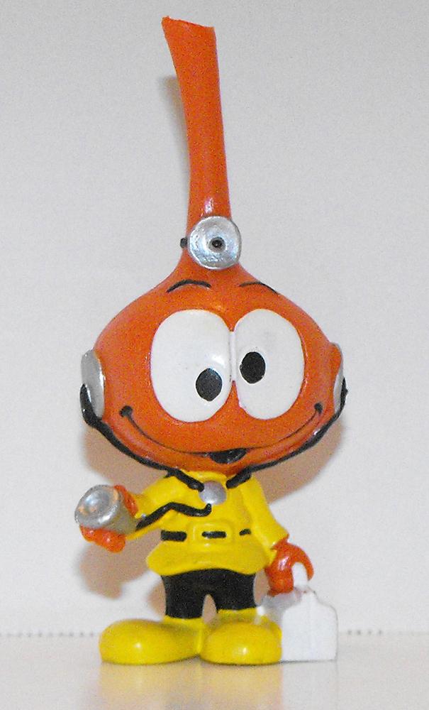 Dimmer as Doctor Snork Plastic Figurine Miniature Figure Snorks Cartoon
