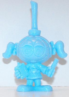 Blue Casey Nurse One Color Figurine Miniature Figure Snorks Cartoon