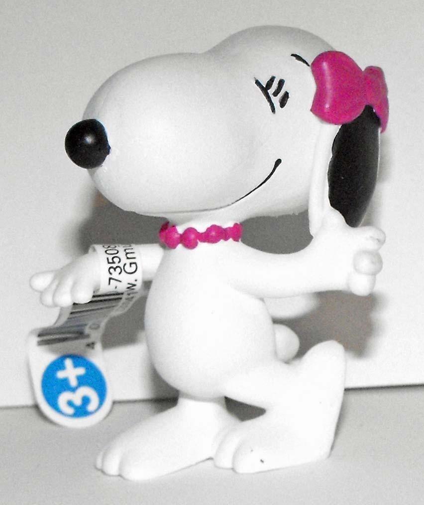 Snoopy's Sister Belle Girl 2 inch Figurine Peanuts Miniature Figure