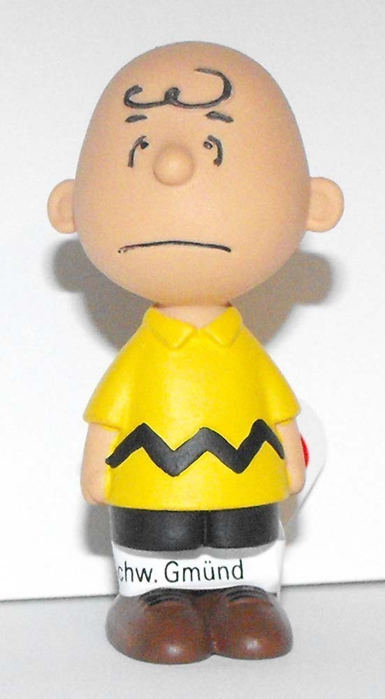 Charlie Brown 2 inch Plastic Figure Peanuts Miniature Figure