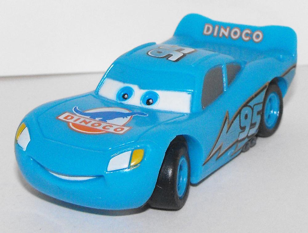 Dinoco Lightning McQueen Cars Figurine