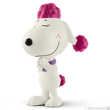 Fifi the Circus Poodle Figurine Peanuts Miniature Figure