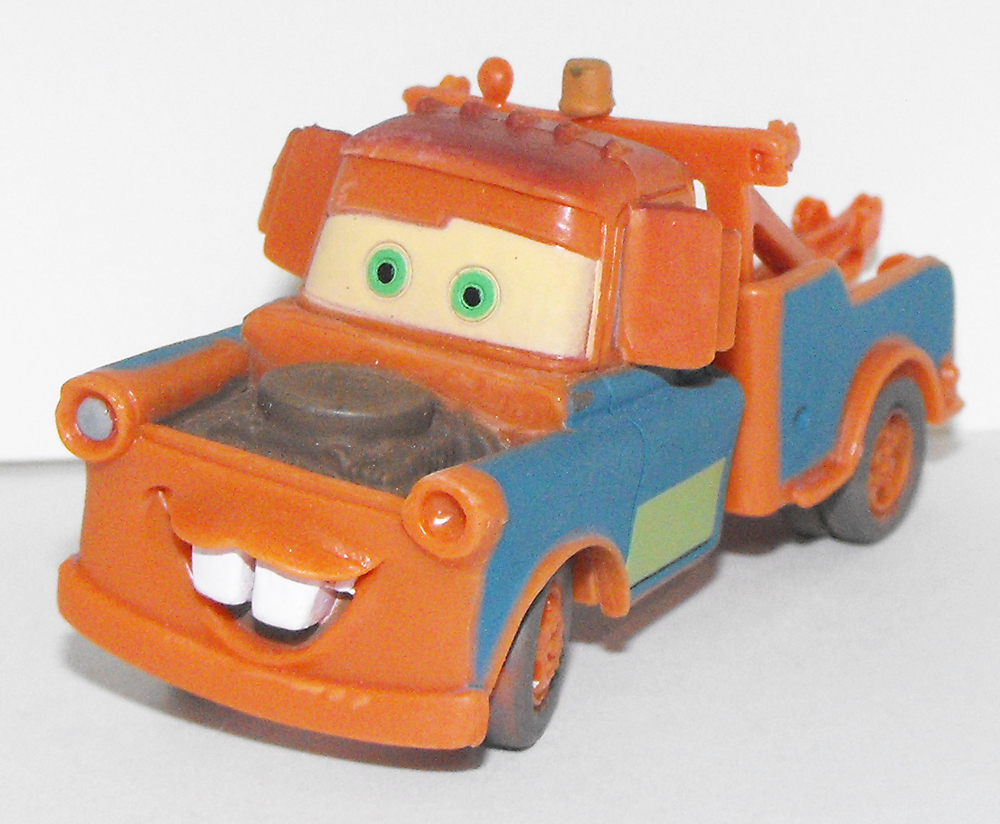 Tow Mater Plastic Figurine from Cars Movie