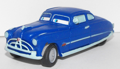 Doc Hudson Plastic Figure from Cars Movie