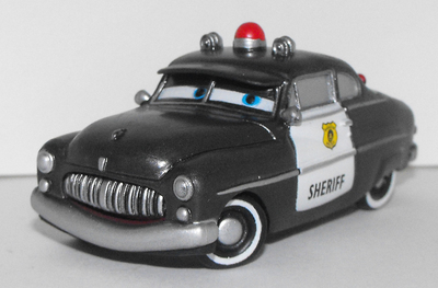 Sheriff Plastic Figurine from Cars Movie