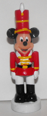Mickey Mouse Nutcracker Christmas 3 inch Plastic Figurine