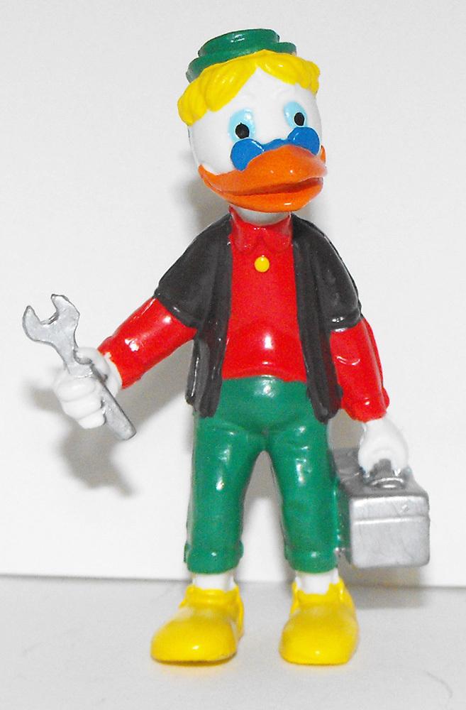 Plumber Duck 2 inch Plastic 2 inch Plastic Figurine