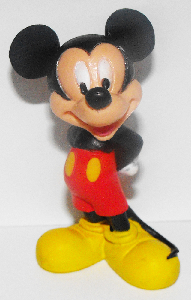 Mickey Mouse with Hands behind back Figure