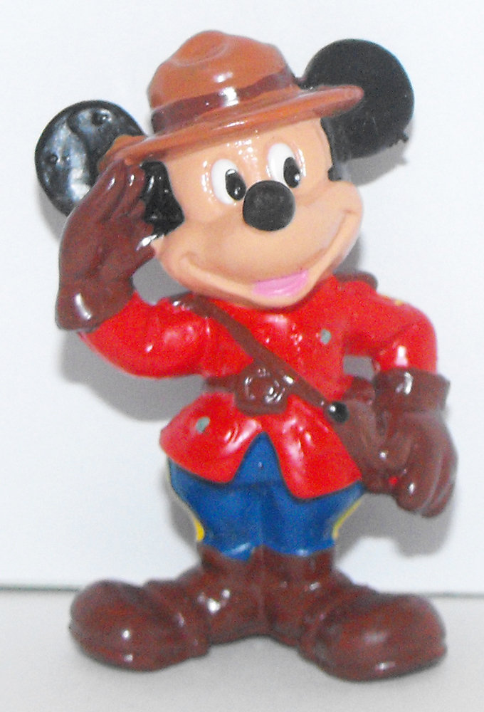 Mickey Mouse Ranger 2 inch Plastic Figure