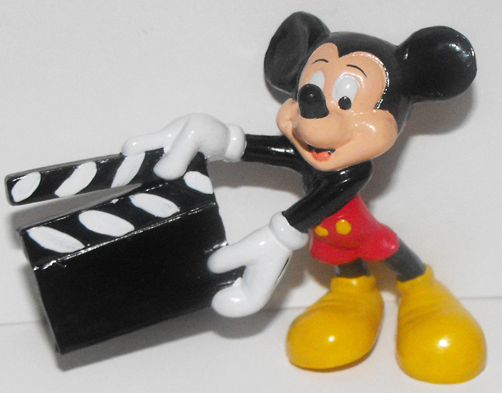 Mickey Mouse Movie Clapperboard Figurine