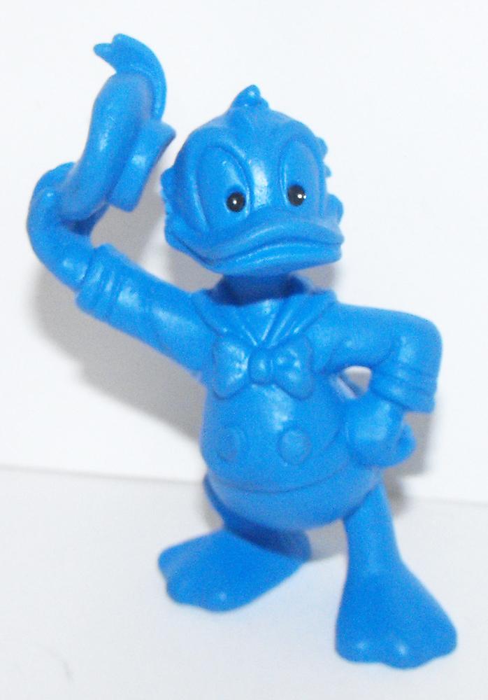 Blue Donald Duck 2 inch Plastic Figurine