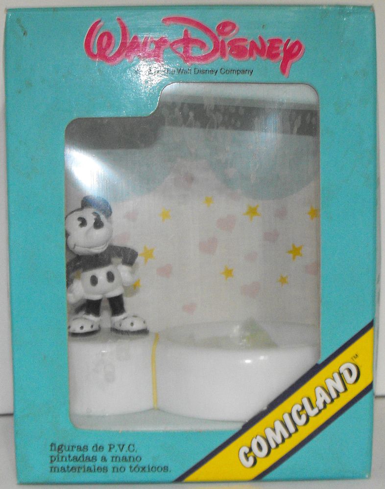 Mickey Mouse Figurine on Paper Clip Holder